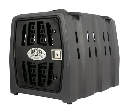 Lucky Duck kennel dog safety crate