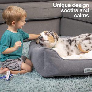 PetFusion calming dog bed