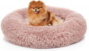 Savfox calming dog bed
